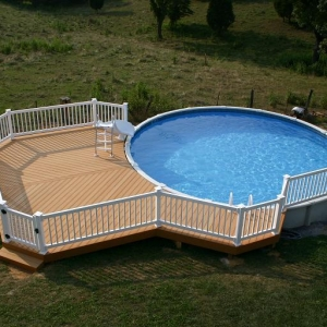 Gallery Semi Inground Pools Suntek Pools Amp Spas